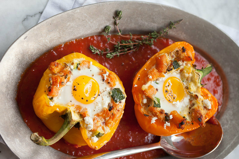 Baked-Eggs-Peppers-FoodieCrush
