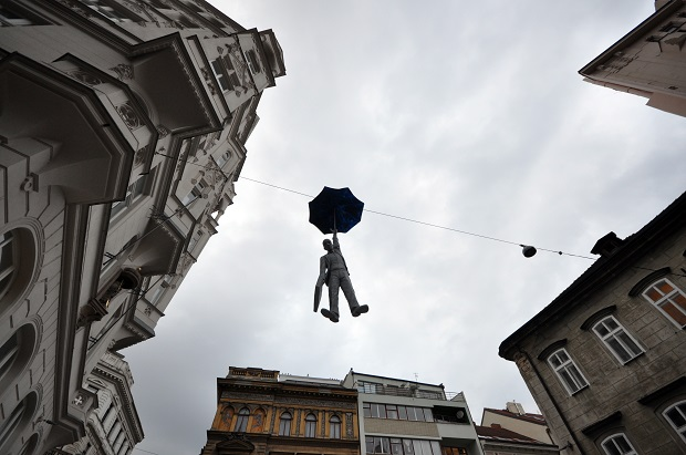 Prague-Statues-Black-Umbrella-Man2