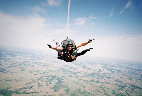 skydiving travel